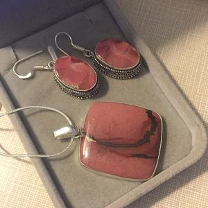 Jewelry - NEW Ravishingly beautiful Jasper Set
